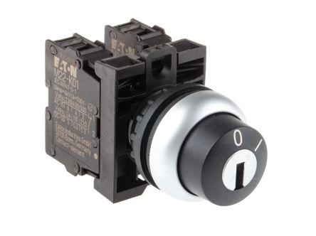 M22 Wrs K11 Eaton Complete Key Switch 2 Pos 1no 1nc