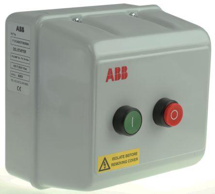 ABB 7.5 kW Automatic DOL Starter, 400 V ac, 3 Phase, IP55