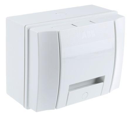 ABB 4 Way Plastic Consumer Unit, 63A, IP65 MISTRAL65