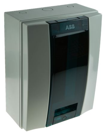 ABB 12 Way Plastic Consumer Unit, 63A, IP65 MISTRAL65
