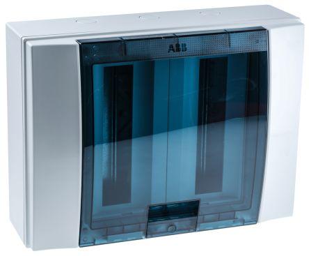 ABB 24 Way Plastic Consumer Unit, 125A, IP65 MISTRAL65