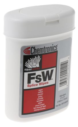 Chemtronics Splice Wipes x 100 pcs for Cleaning