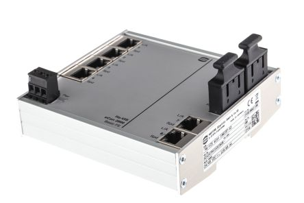 Harting Ethernet Switch DIN Rail Mount, 10 Mbit/s, 100 Mbit/s