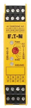 ESR5-NV3-30 | Eaton ESR5 Safety Relay Dual Channel with 2 Safety ...