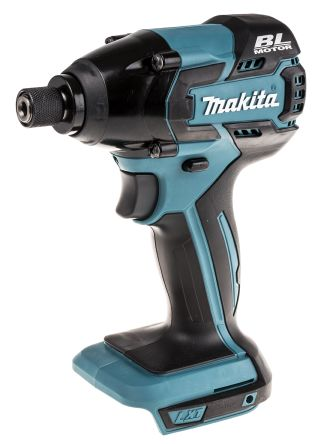 Makita 18V Impact Driver, 1/4in 1/4 in Hex Chuck, 4Ah Battery Capacity