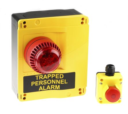 Carel Coldwatch Trapped Personnel Alarm