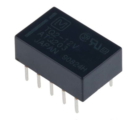 DPDT PCB Mount, High Frequency Relay 12V dc