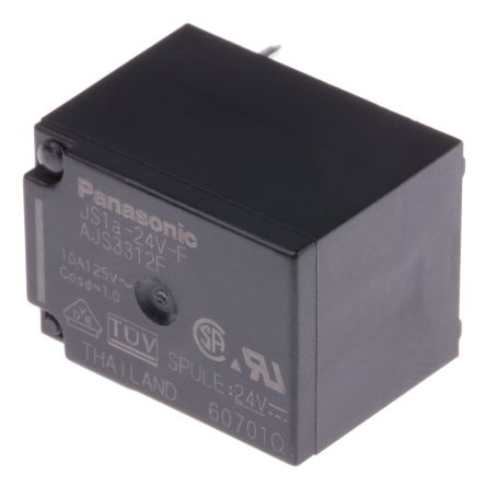 SPNO Non-Latching Relay PCB Mount, 24V dc Coil, 5 A product photo