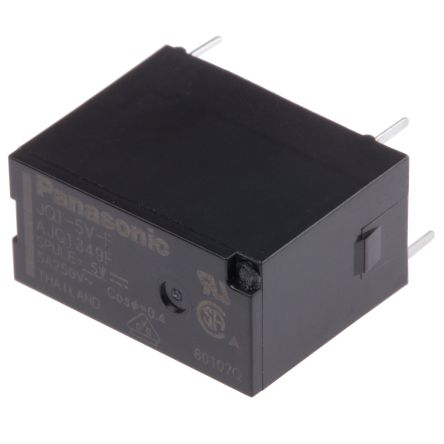 SPDT Non-Latching Relay PCB Mount, 5V dc Coil, 1 A product photo
