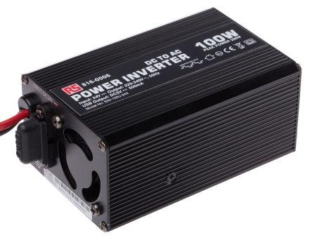 100W DC-AC Car Power Inverter, 24V dc / 230V ac