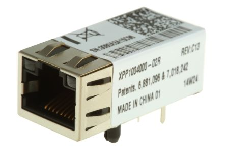Lantronix XPP1004000-02R Networking Module, 10Base-T and 100Base-TX Link, ARP, AutoIP and SYSLOG (Protocols), BOOTP,