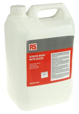 RS PRO 5 L Bottle of Screen Wash De-icer