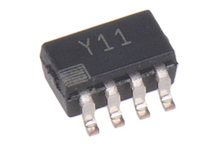 Analog Devices AD8293G160ARJZ-R7, Instrumentation Amplifier, 50μV Offset 500Hz, R-RO, 1.8 → 5.5 V, 8-Pin SOT-23
