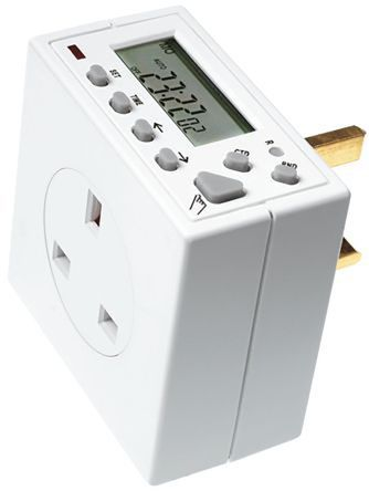 Timer Switch Theben / Timeguard TG77, Hour/Minutes/Seconds 230 V ac 150h