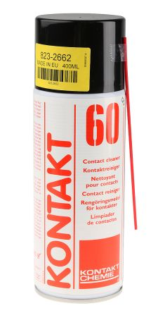 CRC Kontakt 60 400 ml Electrical Contact Cleaner Aerosol for Electrical Contacts