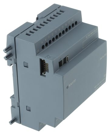 Siemens LOGO! 8 Expansion Module, 24 V dc Relay, 8 x Input, 8 x Output Without Display