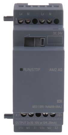 Siemens LOGO! 8 Expansion Module, 24 V dc, 2 x Output Without Display