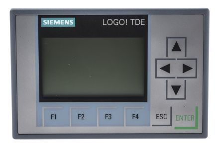 Siemens with LOGO! 8 and higher Backlit HMI Panel, 2 port, 12 → 24 V ac/dc Supply