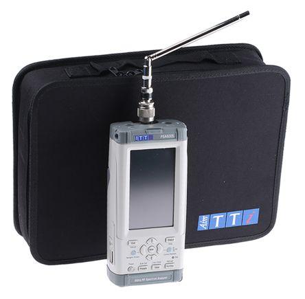 Aim-TTi PSA6005USC Handheld Spectrum Analyser, 10.9 cm Backlit TFT LCD, USB, 10 MHz → 6 GHz