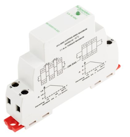 Schneider Electric 15 A SPNO Solid State Relay DC DIN Rail MOSFET