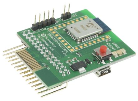 Microchip PICtail Plus Bluetooth Smart (BLE) Daughter Board for RN4020