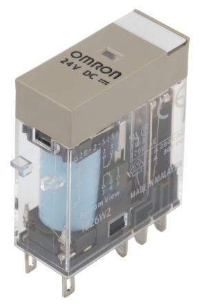 Omron 5 A DPDT Smart Power Relay, Plug In, 125 V dc, 380 V ac Maximum Load