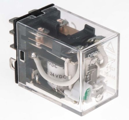 ly2n dc24 omron omron dpdt non latching relay plug in. Black Bedroom Furniture Sets. Home Design Ideas