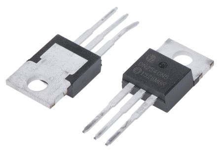 DN2540N5-G N-Channel MOSFET, 500 mA, 400 V Depletion, 3-Pin TO-220 Microchip