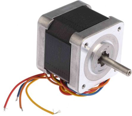 Sanyo Denki Bipolar Hybrid Stepper Motor 1.8°, 0.39nm, 24 V dc, 1 A, 4 Wires