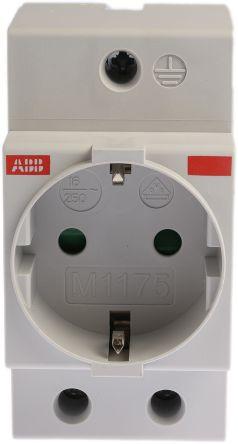 German Schuko Din Rail Modular Socket