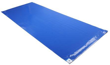 Blue Cleanroom Tacky Mat, 1.14m x 460mm x 1.65mm