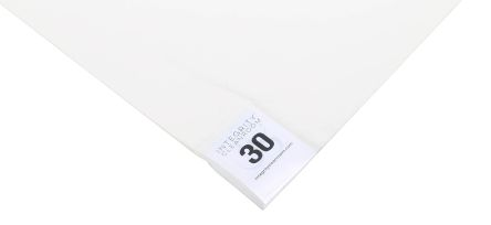 White Cleanroom Tacky Mat, 1.14m x 660mm x 1.65mm