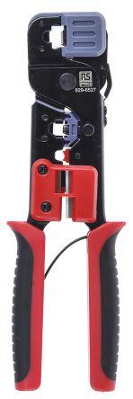 RS PRO Hand Crimping Tool for RJ11, RJ12, RJ45