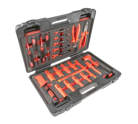 RS PRO 23 Piece Engineers Tool Kit VDE Approved