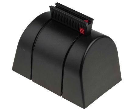 RS PRO Black Wall Mount Barrier, x 48mm.