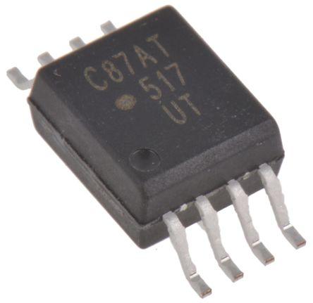 ACPL-C87AT-000E Broadcom, Isolation Amplifier, 3 → 5.5 V, 8-Pin SOIC