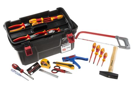 RS Pro 31 Piece VDE 1000 V Electricians Tool Kit