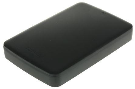Dysk twardy przenośny, 2 TB, kolor: czarny, Toshiba Canvio Basics, HDTB320EK3CA