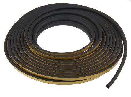 D 12mm X 10mm Joint de la Porte Joint de Fenêtre Autoadhésif EPDM Noir Blanc