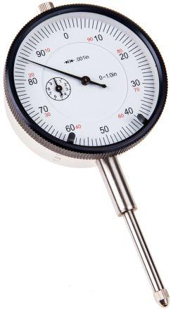 RS PRO Plunger Dial Indicator, Range Maximum of 0.5 in