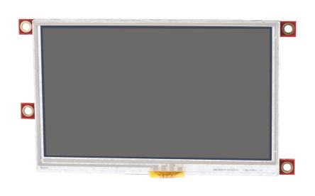 4D Systems uLCD-43PT-PI TFT LCD Colour Display / Touch Screen, 4.3in, 480 x 272pixels