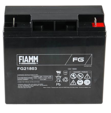 12V Batterie au plomb FIAMM Batterie au plomb rechargeable FG21803 Lead-Acid