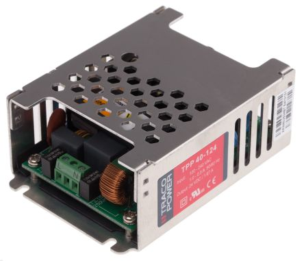 TRACOPOWER, 40W Embedded Switch Mode Power Supply SMPS, 24V dc, Encapsulated, Medical Approved