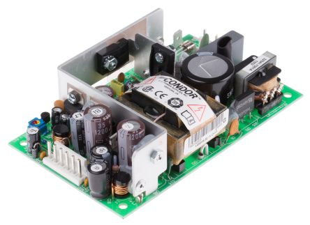 SL POWER CONDOR, 40W Embedded Switch Mode Power Supply SMPS, 5.1 V dc, ±12 V dc, Open Frame