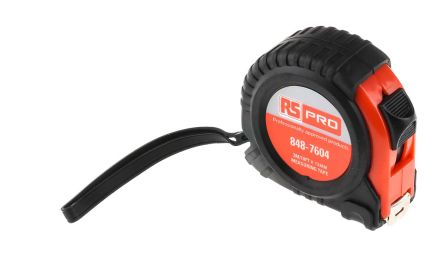 RS Pro, 3m Tape Measure, Metric & Imperial