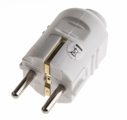 Rs Pro German Mains Plug Type F German Schuko 16a 250 V Rs Components - 37+ What Is A Type F Plug? Pics