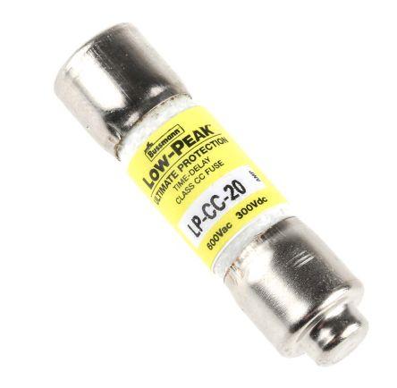 Cooper Bussmann LP-CC-15 15  Amp 600Vac Time Delay Fuses LPCC-15