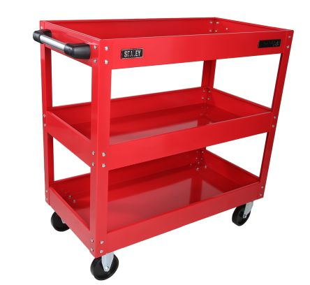 EZ Mail Mover Mail Tray Cart Storage Sheet Pan Rack Cart 27 Tier