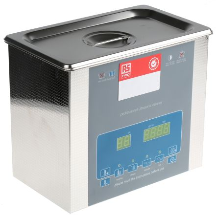 Ultrasonic Cleaner, 100W, 3L with Lid product photo