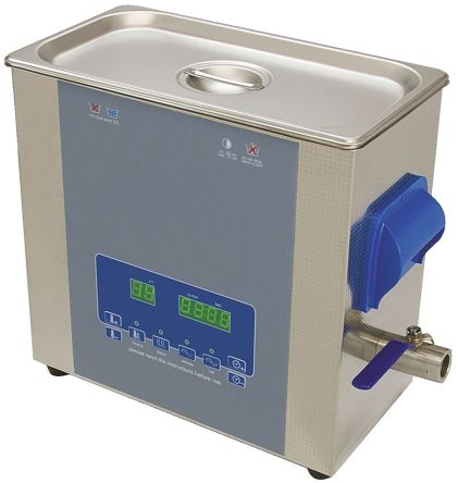 Ultrasonic Cleaner, 300W, 6L with Lid product photo